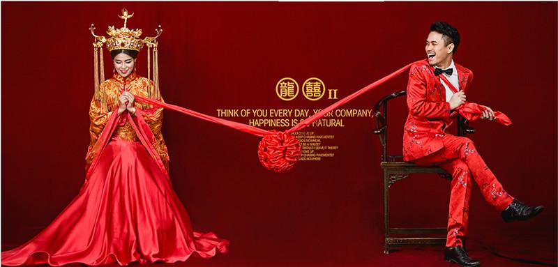 怎么拍好中式婚纱照?